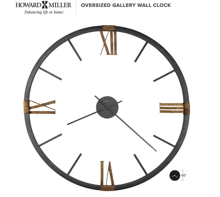 ハワード・ミラー社大型掛け時計
