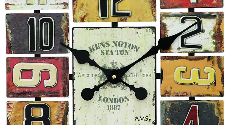 イギリス伝統的なステーションクロック